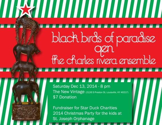 Star Duck Charities flyer